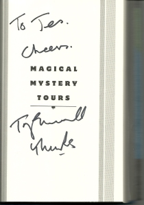 Magical Mystery Tours signature