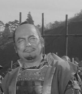 Susumu Fujita in The Hidden Fortress