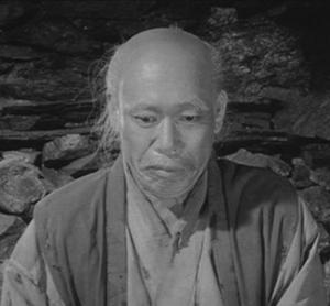 Takashi Shimura in The Hidden Fortress