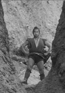Toshiro Mifune in The Hidden Fortress