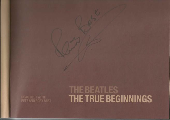 Pete Best autograph